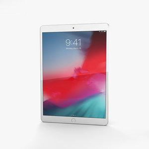 3D apple 2019 ipad