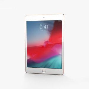 apple 2019 ipad 3D model