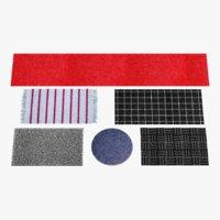 rugs pbr fibers 3D model