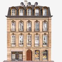 building walls 3D model