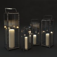 3D forged candles model