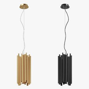 81602x savona lightstar chandelier 3D