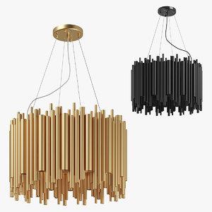 3D 81610x savona lightstar chandelier