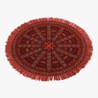 oriental carpet 3 model