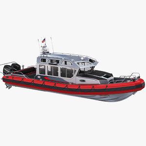 safe 33 cabin aluminum 3D model