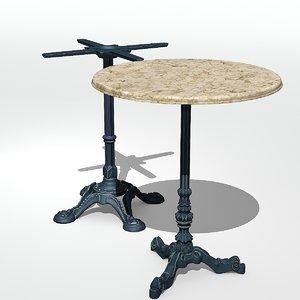 3D model table antique
