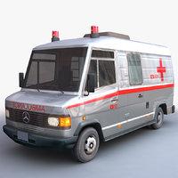 3D ambulance van