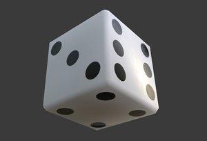 dice sides 3D model