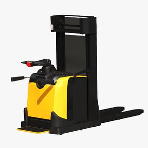 3D electric forklift 1 6t model