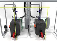 Viessmann Vitoplex 100-1700 boilers