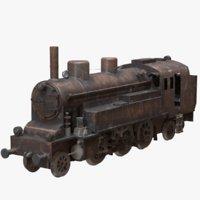 3D train redshift rusty