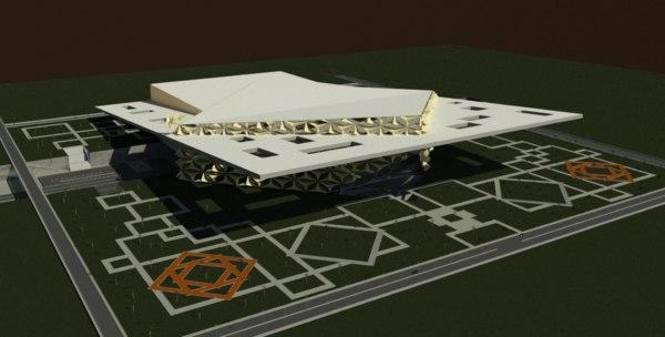 3D revit floor plans model