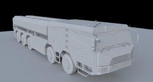 df-100 missile 3D model