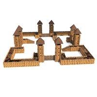 Castle Model  Set 4300 Objects