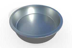 dog dish 3D