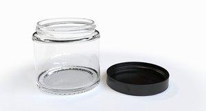 jar screw lid 3D model
