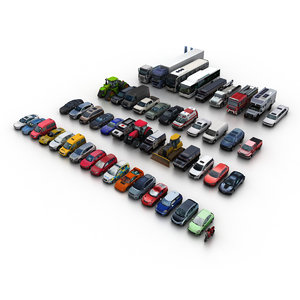 3D generic city vehicles model