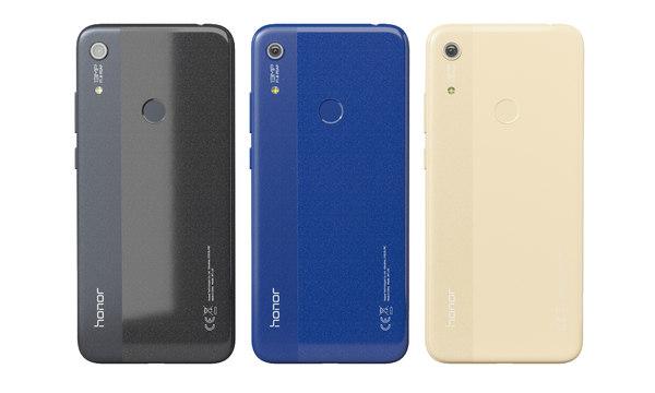 smartphone honor 8a 3 3D model