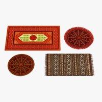 3D oriental carpets