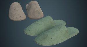 slipper 2b 3D model
