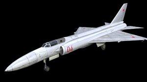 lavochkin la-250 anakonda 3D model
