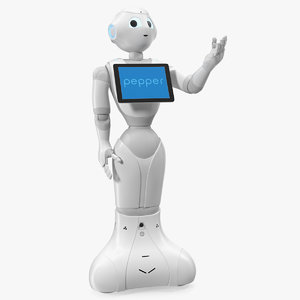 resident pepper robot 3D model