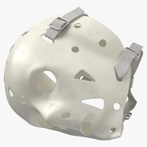 ice hockey goalie mask 3D