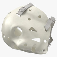 ice hockey goalie mask 3D