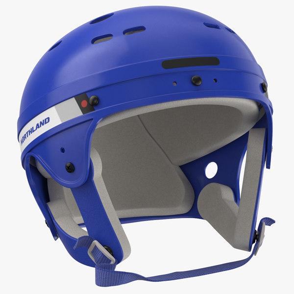 northland helmet laying 3D model