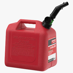 3D gas container 03 model