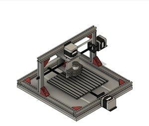 cnc 3D model