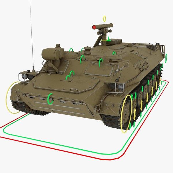 anti-tank sturm-s 3D model