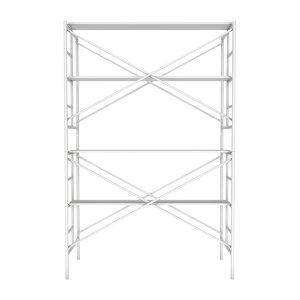 scaffolding metal construction 3D