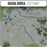 3D daegu surrounding - model