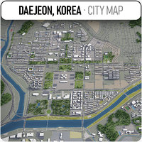 3D daejeon surrounding -