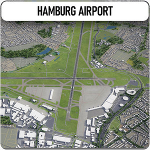 3D hamburg international airport