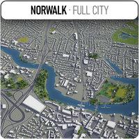 norwalk surrounding - 3D model