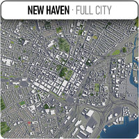 3D new haven surrounding -