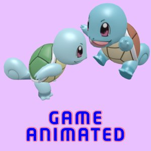 3D model pokemon squirtle poke