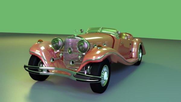 car roadster 3D model