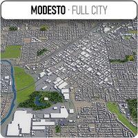 modesto surrounding - 3D model