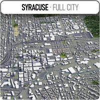 syracuse surrounding - 3D model
