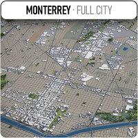 monterrey surrounding - model