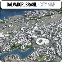 salvador - brasil surrounding 3D