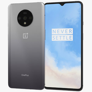 3D realistic oneplus 7t frosted