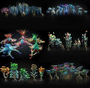 pandora pack 30 tree 3D