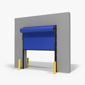 3D roll door