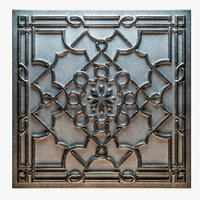 tin ceiling tile 3D model