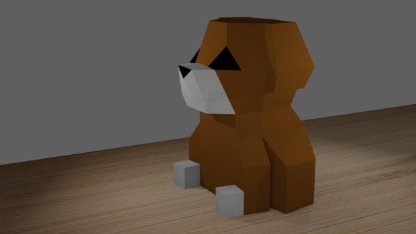 paper design 3D model