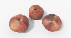 peach 01 3D model